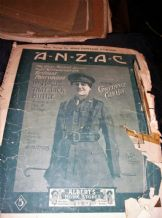 ANTIQUE 1916 SHEET MUSIC ANZAC HOUSE JACK BUILT PANTO + HAWAIIAN BUTTERFLY 1917